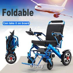 110/220V Pliant Portable Mobilité Vieux gé Handicapé Électrique Chaise Roulante