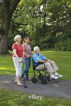 19 Transport Chaise Portatif Mobilité Médicale A226-00 Carex Pliable Roulante