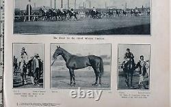 1911 Inde Imprimé Bombay Courses Grand Ouest Handicap Gazon Club Tasse Tangaroa