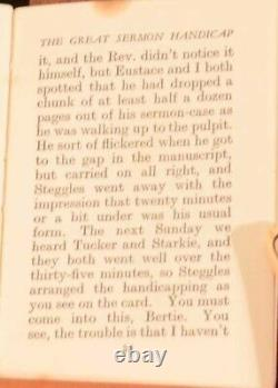 1933 P G Wodehouse The Great Sermon Handicap