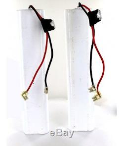 2 Batteries 12V 5Ah pour Monte Escalier ACORN 180, Bison 80