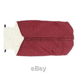 2 pièces d'hiver coupe-vent imperméable doublure en peluche couverture de