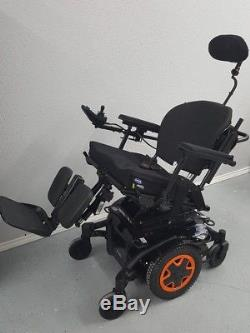2017 Invacare Tdx SP2 Chaise Roulante, puissance Inclinaison, Inclinaison, Jambes