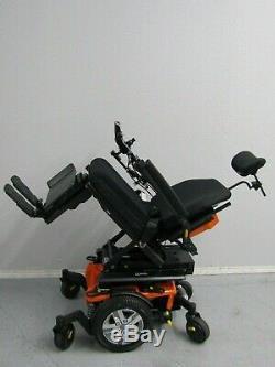 2018 Quantum Ilevel Bord 2.0 Chaise Roulante, puissance Inclinaison, Legs & Lift