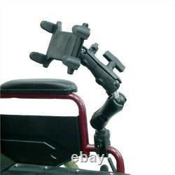 22.9cm-30.5cm Tablette Support Rail / Tube Bras Pour Chaise Roulante Handicap