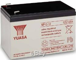 2x 12V 12AH CONFORME 13A Batteries Oset Spider 16.0 électrique mini motos trial