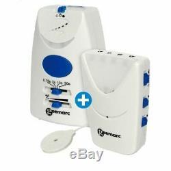 Amplicall 5040 Détecteur de sonnerie avec récepteur vibrant et lumineux Neuf