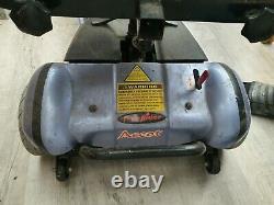 Ascot Freerider Mobilité Handicap Scooter Bleu Avec Lithuim Batterie/Chargeur