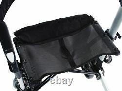 B-Ware Ridder Rollator de Luxe 4-Rad 4 Roues Rolator Sans Sac Shopping