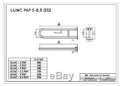 Barre dappui rabattable avec porte-papier Ø32 mm, acier inoxydable