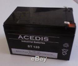 Batterie 12V 12ah pour Fauteuil Monte Escalier