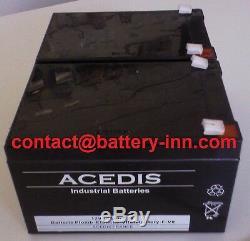 Batterie Merits Mini Coupe (S539) 2X12V pour Scooter de Mobilité Electrique