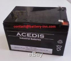 Batterie pour Invacare Solar 12V 14Ah Scooter de Mobilité Electrique