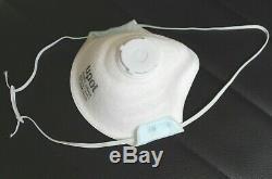 Boite De 10 Masques Respiratoire Upol Neuf Ce Ffp2 En149 2001 Avec Valve