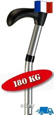 Canne à Marche Deambulateur Aide Appui Handicapé Charge Lourde Capacité 180 kg