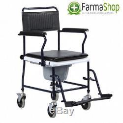 Chaise confortable avec roues