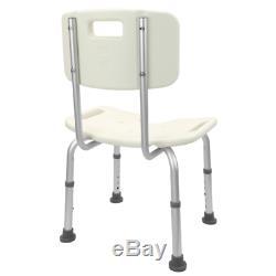 Chaise de douche réglable en hauteur pour les personnes âgées avec orifice