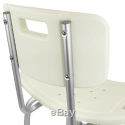 Chaise de douche réglable en hauteur renforcé pour les personnes âgées
