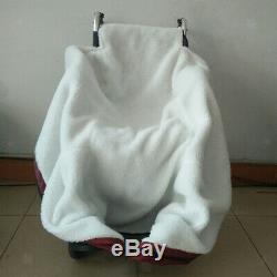 Couverture chauffante recouverte d'une housse chauffante pour fauteuil