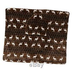 Couverture de Fauteuil Roulant en Velours Linge Textiles pour Patients