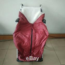 Couverture de couverture chauffante pour fauteuil roulant pour personnes