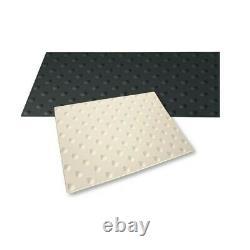 Dalle Podotactile Auto-Adhésive pour extérieur Butyl Watlex noir 1350 x 400 mm