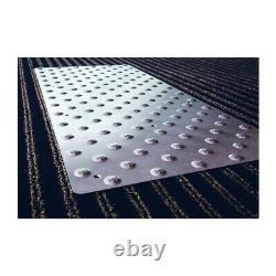Dalle podotactile en inox PICOGRIP 975 x 420 mm