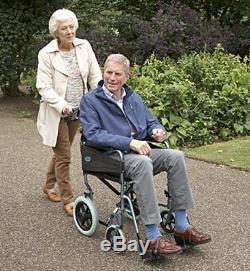 Days, fauteuil de transfert Evasion, fauteuil rou(Standard Bleu Argenté)