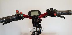 E-handbike roue 12 moteur 500 Watt compatible avec tous les fauteuils roulant