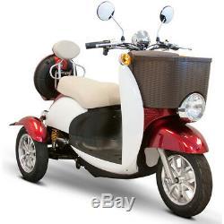 Ewheels EW-11 Sport Électrique 3-Wheel Scooter Rouge/Blanc, Neuf
