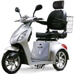 Ewheels EW-36 Élite Électrique 3-Wheel Mobylette Argent -e-wheels Scooter
