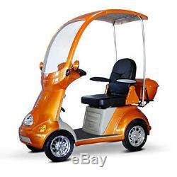 Ewheels EW-54 Couvre 4 Wheel Trottinette Électrique Orange, Neuf