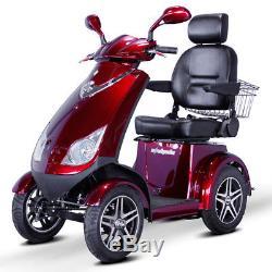 Ewheels EW-72 Électrique 4-Wheel Mobylette Rouge E-Wheels 24.1km/H, Neuf