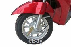 Ewheels EW38 Rouge, Électrique Mobylette Résistant 24.1km/H 69.2km Gamme