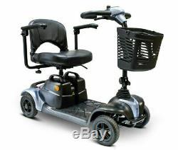 Ewheels Électrique Pliant Portable Médicale Mobilité Scooter 4 Roue Bleu EW-M39