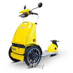 Ewheels Ew-77 Bord 3 Wheel Scooter Électrique Jaune, Neuf