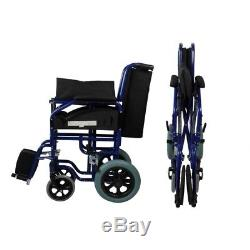 Fauteuil roulant pliant Accoudoirs. 45 cm Mod. Maestranza Mobiclinic