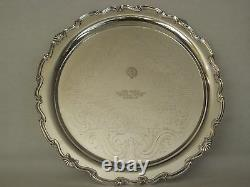 Fb Rogers Georgetown Argent 1968 Amateur Handicap Tournoi Runner-Up Trophy