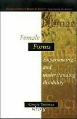 Femelle Formes Bénéficier Et Compréhension Handicap Livre de Poche