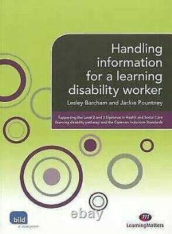 Handling Informations For A Learning Handicap Travailleur Livre de Poche L