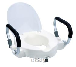 Hestec Rhausseur WC avec Accoudoirs HISRAIL02 NEUF
