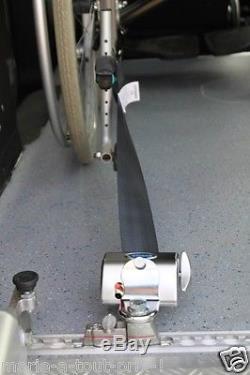 Kit d'arrimage de fauteuil roulant 4 sangles + ceinture Q'STRAINT Q-8204-L NEUFS