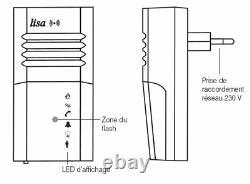 Lampe-flash radio lisa secteur Neuf
