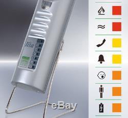 Lampe flash rouge mobile radio lisa avec accu Neuf