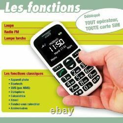 Le Classic Initial, Portable Senior pour Les + âgés/Handicap. Suppression