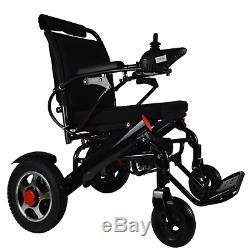 Léger Électrique Chaise Roulante Pliable puissance Roue Chaise Motorisé Mobilité