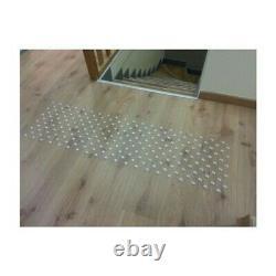 Lot de 150 plots podotactiles avec adhésif épais Aluminium anodisé lisse Ø 25