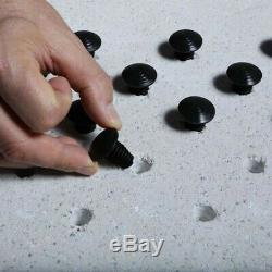 Lot de 250 clous podotactiles en polymère gris