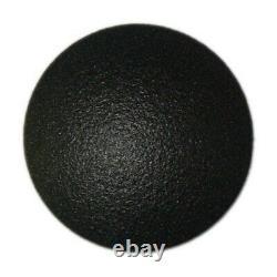 Lot de 80 clou podotactile lisse en aluminium noir