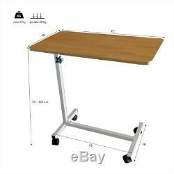 MENSAM Table tablette de lit d'hôpital pour personnes âgées handicapées repas